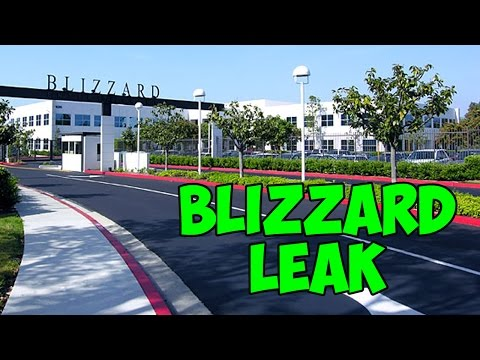 Blizzard Insider Information Leaked