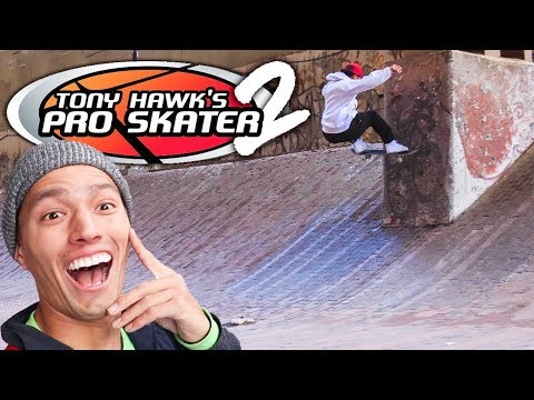 SECRET TONY HAWKS PRO SKATER LEVEL IN REAL LIFE!!