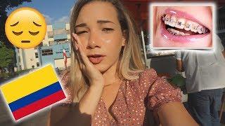 VIAJEI PARA A COLOMBIA  PARA COLOCAR APARELHO NOS DENTES ( NOS EUA É  CARO)