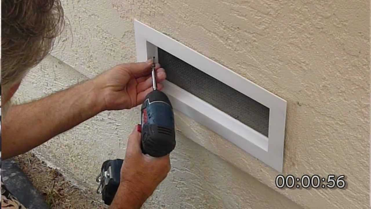 Ezrvent Fv100 Easy Replacement Vent Diy Installation Youtube