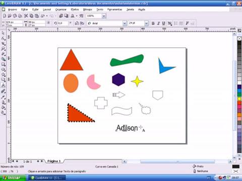 Video aulas Suite Corel Draw x Photopaint   Aula 07