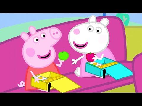 Cartoons für Kinder - Ein Ausflug mit dem Bus - Peppa Wutz Neue Folgen