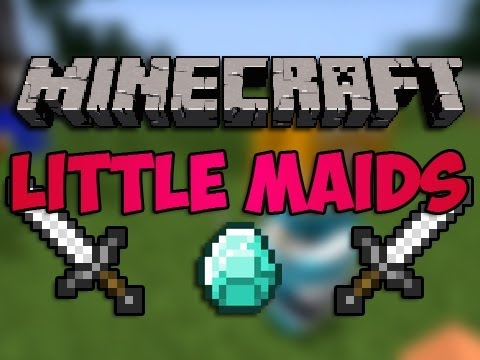 Minecraft Mods | Episode 526 | Little Maids | iPodmail | 1.2.5