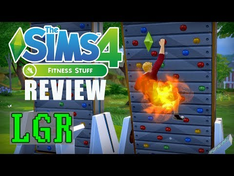 LGR - The Sims 4 Fitness Stuff Review