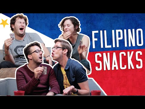Americans Try Filipino Junk Foods