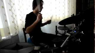 Nirvana - Smells Like Teen Spirit Drum Cover (Ahmet Köse)