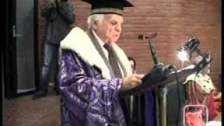 Napoli - Laurea honoris causa a Yves Bonnefoy