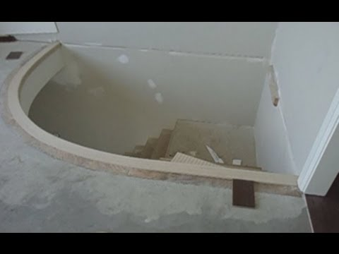 Curved Stair Nosing Installation Youtube