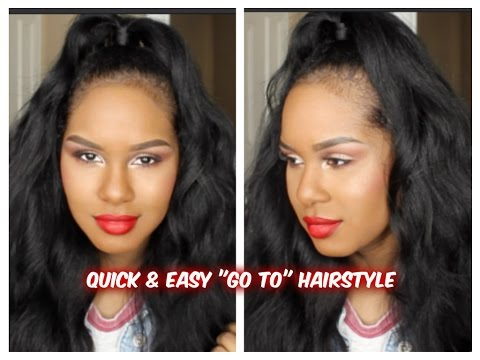 "QUICK & EASY ""Go to"" Hairstyle"