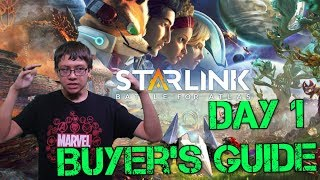 Starlink Battle for Atlas: Official Day 1 Buyer's Guide