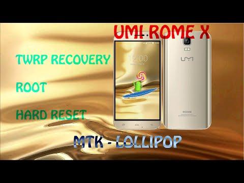 Tutorial Recovery Root y Hard Reset Umi Rome X (Válido Para Dispositivos MTK con Lollipop)