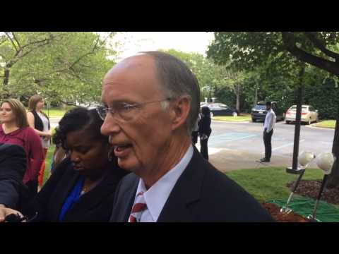 Gov. Robert Bentley on impeachment hearing