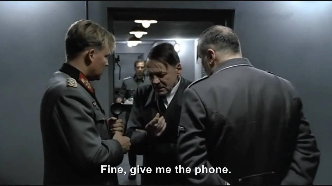 Hitler phones Hitler: The Last Ten Days