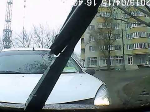 авария с видео регистратора апрель 2013