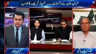 What Javed Hashmi says about Imran and Nawaz - Takrar 26 October 2016