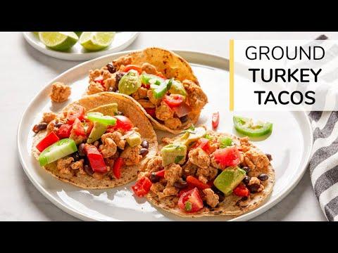 Turkey and Black Bean Taco   Clean & Delicious