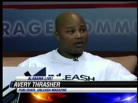 UnleashMagazine.com publisher, Avery Thrasher on WSFA-NBC Alabama Live