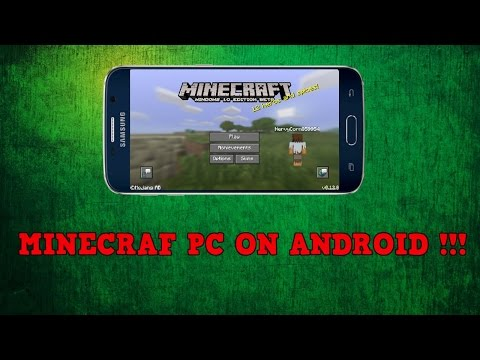 How To Play Minecraft PC On Android