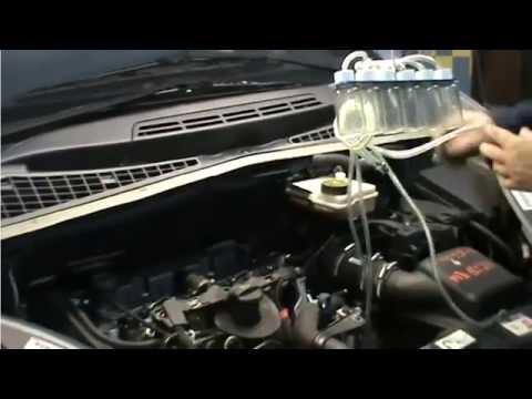 Procédure d'un contrôle retour injecteur Common Rail
