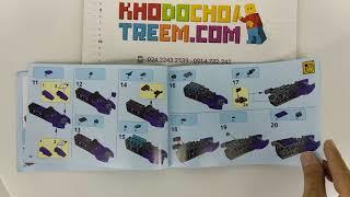 Hướng dẫn lắp ráp Lepin 06074 Lego Ninjago 70639 Street Race of Snake Jaguar giá sốc rẻ nhất