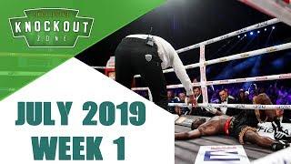 Boxing Knockouts   July 2019 Week 1