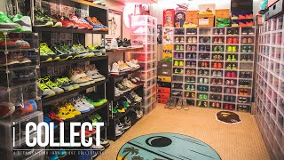 PART 2 - Take a Look Inside This Colorado Springs Local's INSANE Sneaker Basement | iCollect