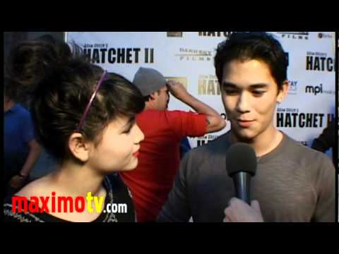 BooBoo Stewart & Fivel Stewart on Horror Films at HATCHET 2 Premiere