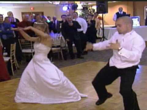 Nicole and Michaels First Dance-Crank That Soulja Boy Surprise...