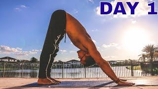10 DAYS YOGA CHALLENGE - DAY 1 - [Breathing, Vinyasa and Sun Salutations]