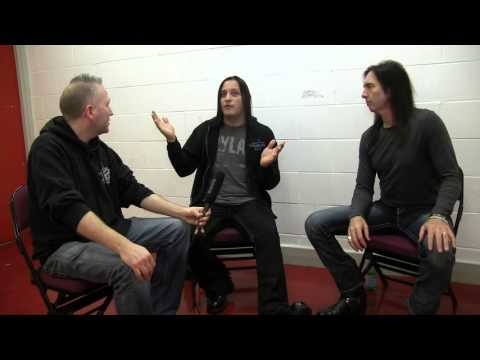 Black Star Riders interview with Rock 'N' Load - Manchester Arena - 15/12/15