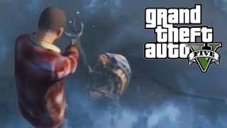 Easter Egg do Alien no GTA 5: Grand Theft Auto V - Xbox 360 / PS3