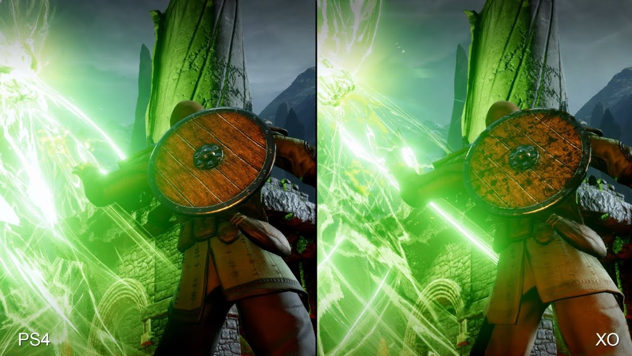Dragon Age: Inq... Xbox One Vs Ps4 Comparison Graphics