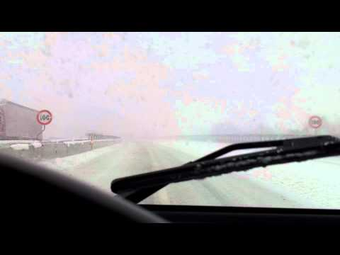 A14 tratto chiuso per neve bufera 11/02/2012