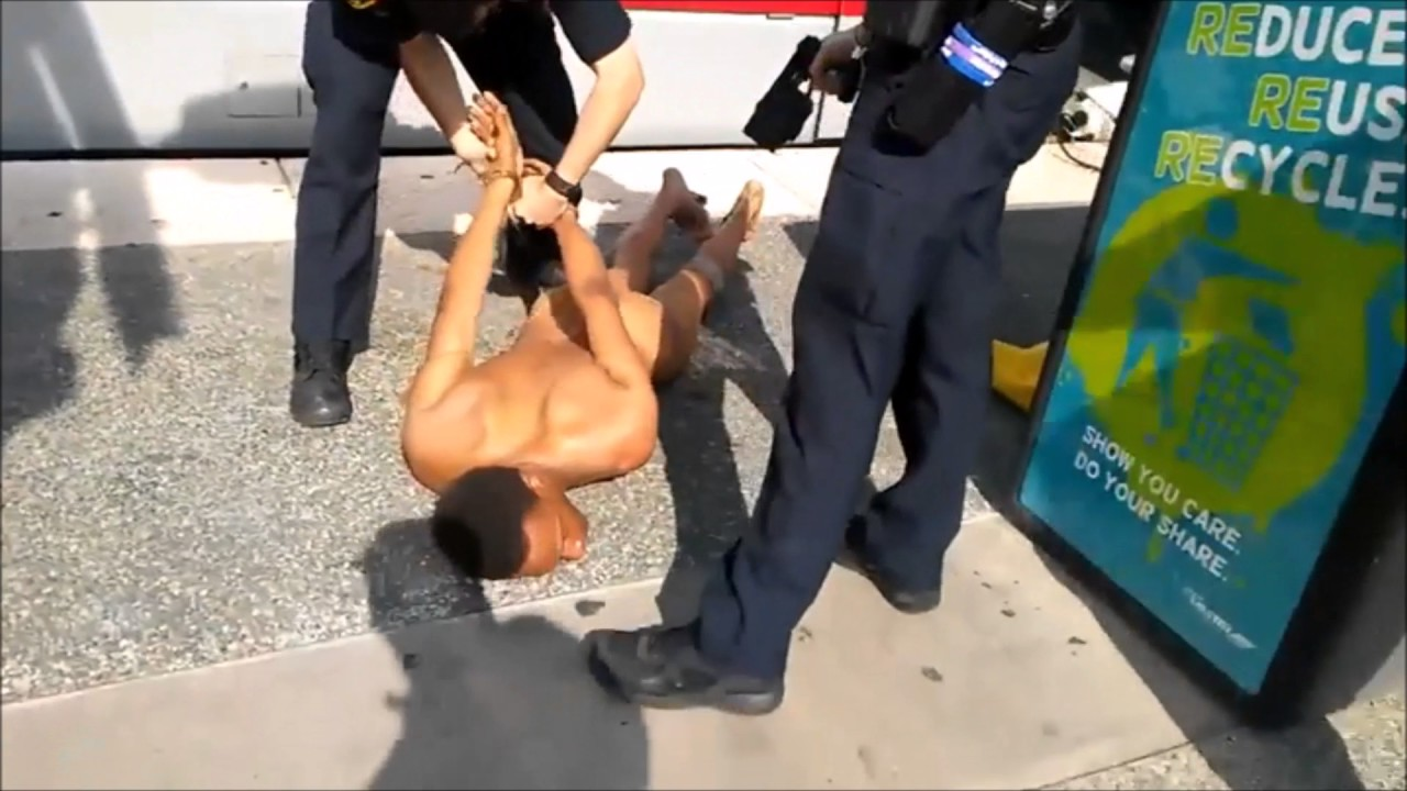 Naked Pesticide Spraying Bitch Slapping Taser Guy