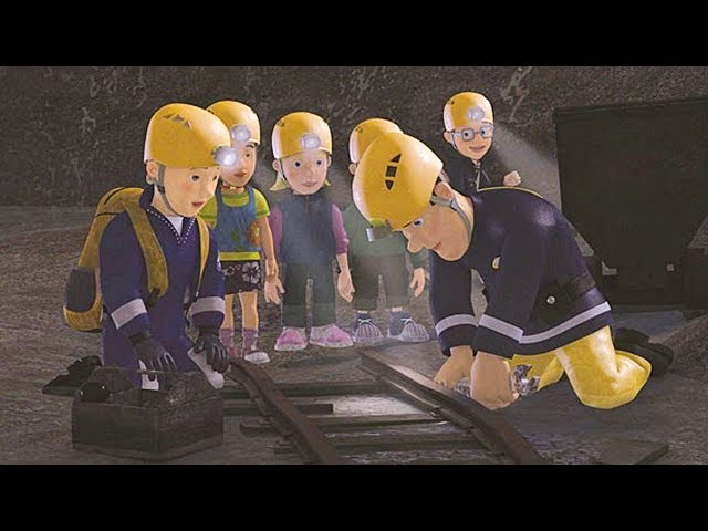 Strażak Sam Nowe odcinki    Utknąłem w kopalni - Kompilacja