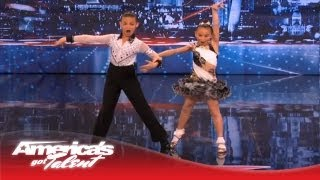 Brother and Sister Battle It Out With Dance for a Spot in Vegas - America's Got Talent