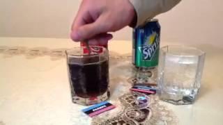 Вот что делает Coca Cola с желудком!!!