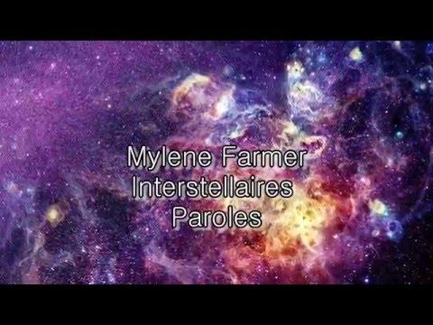Mylene Farmer-Interstellaires (paroles)