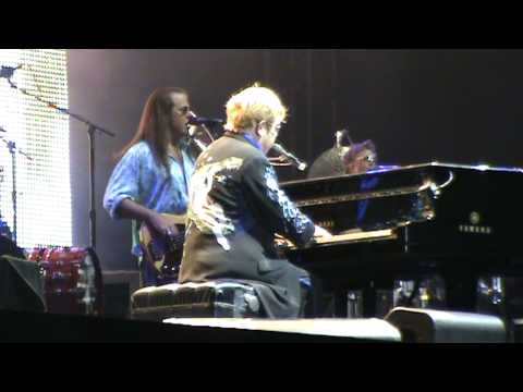 Elton John in Israel life - Rocket Man