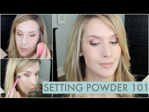 How to Use Setting Powder for Natural Long Lasting Makeup That's Not Flat!