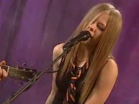 Avril Lavigne-mobile(acoustic) video