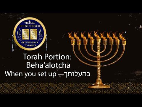 2021 Virtual House Church - Bible Study - Numbers Week 36: Behaalotecha