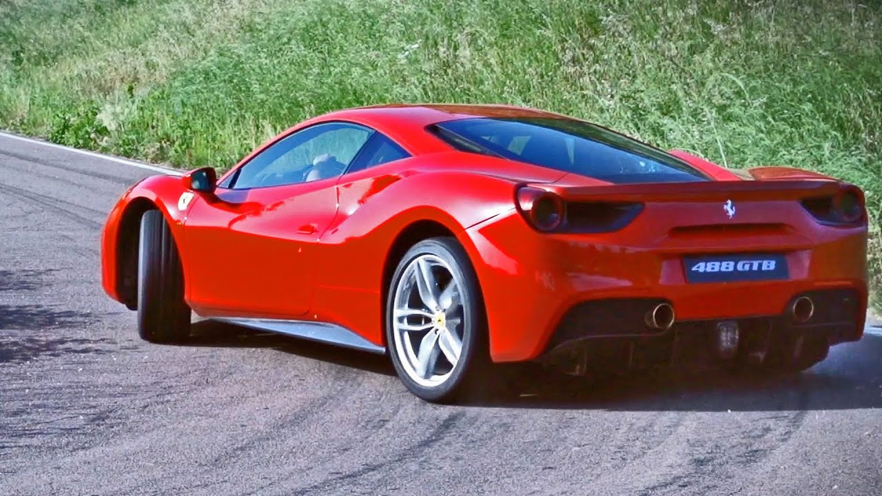 Ferrari 488 Gtb Drift on The