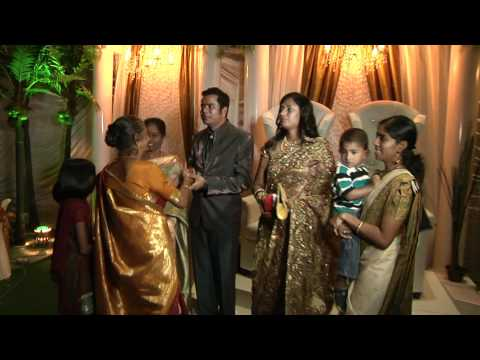 Malaysian Indian wedding reception of OGVJ & Revathy THR
