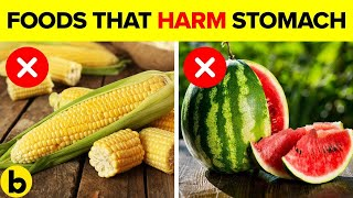 8 Foods That Can REALLY Harm Your Stomach