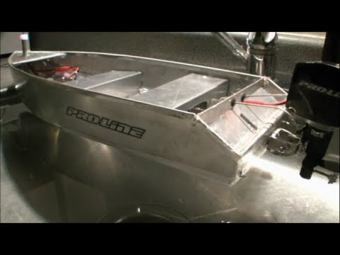 Aluminium Scale rc fisherman boat -madmaxRCchannel- - YouTube