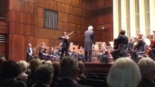 Sven Stucke plays Mozart Violin Concerto No. 5 in A Major