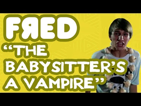 Fred Figglehorn - The Babysitter's a Vampire - Official Music Video