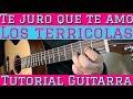 Te Juro Que Te Amo - Tutorial de Guitarra  Para Principiantes