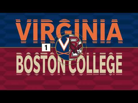 Boston College Men's Soccer Recap vs. No. 1 Virginia (Oct. 11, 2019)